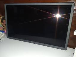 """32LK615BPSB   Smart tv 32"""" LG com display quebrado"""