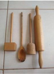 Título do anúncio: Kit cozinha de madeira
