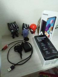 Sansung A21s Novo na caixa