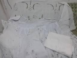 Vendo conjunto de rechillieu branco NOVO - Aceito cartão