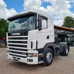 Caminhão Scania R124 360 Cavalo Toco 4x2 2005 - R360