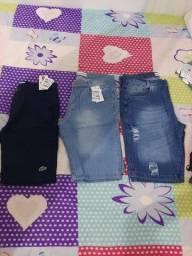 Roupas masculinas, roupas femininas, calçados e peças íntimas