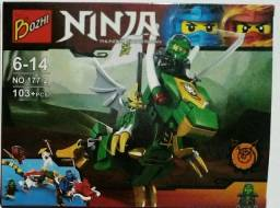 Lego Ninjago Personagem com Dragão
