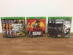 Jogos Xbox one & PS4 ( físicos )