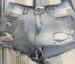 Shorts jeans hering Otimo estado