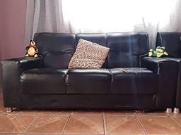 Sofá usado 2 e 3 lugares