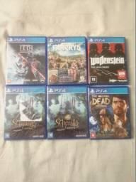 Jogos para PS4/ PS4 Games/ Vendo ou troco / leia o anuncio