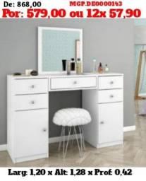 Super Linda Penteadeira Com Espelho - Pagamento e Entrega Sem Sair de Casa