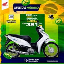 venha para a Mônaco Motocenter adquirir sua moto zerokm!