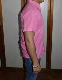 camisa manga curta ralph laurent
