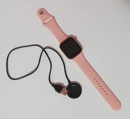 Smartwatch Iwo Max Pro Troca Pulseira 44mm