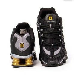 Tênis Nike Shox TLX 12 Molas Refletivo Premium Masculino Novo do 38 ao 43<br><br>