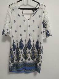 Título do anúncio: Linda blusa estampada feminina. R$ 15,00.