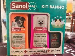 Kit banho Sanol