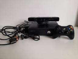 Título do anúncio: Xbox 360+ Kinect+ 1 jogo+ 1 controle