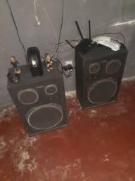 Caixas de som alto falante de 12 .100 w