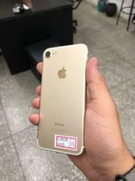 iPhone 7 Gold 128g com garantia // loja aberta
