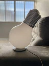 Luminaria decorativa lâmpada