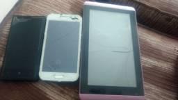 Lote de celular e Tablets