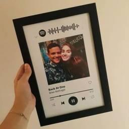 Quadro interativo Spotify