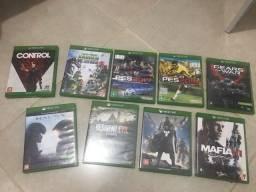 Troco jogos xbox one