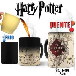 Mapa do Maroto Caneca Magica Harry Potter