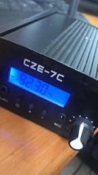 Transmissor via rádio portátil CZE-7C