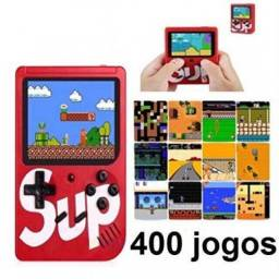 Mini Game Portátil (sup Game Box Plus) Com 400 Jogos - Pronta entrega