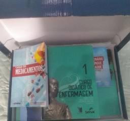 Livros didáticos de Enfermagem, impecável nunca usado.