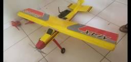 Aeromodelo+controle+3baterias