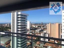Apartamento com 4 dormitórios para alugar, 94 m² por R$ 2.100/mês - Parquelândia - Fortale