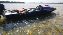 Barco de pesca metalglass big fish 5014 sport plataformado conjunto 2010 pesca - 2010