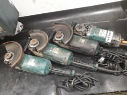 4 lixadeiras Makita