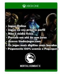 Mortal Kombat XL Xbox One 3x de 16 Reais
