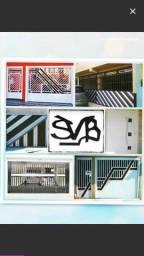 Portões de Alumínio Personalizados
