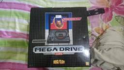 Mega Drive TecToy na caixa