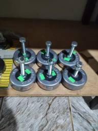 Amortecedor antivibratório para máquinas equipamentos e compressores