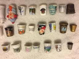 Coleção de dedais do mundo