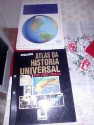 Atlas Mundial e Atlas da História Universal