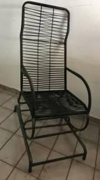 Cadeira de Balanço na Corda Semi Nova