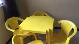 Mesa de plástico