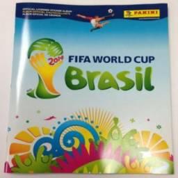 Álbum Capa Dura Copa Do Mundo 2014 - Completo