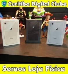 Iphone 8 64gb, lacrado e com garantia de 1 ano apple,homologado pela anatel,somos loja