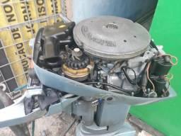 Motor de barco de 15 hp everude ano 1986