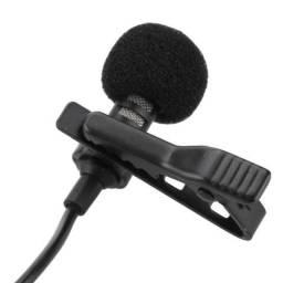 Microfone Lapela para Gravação de Vídeos/Youtubers