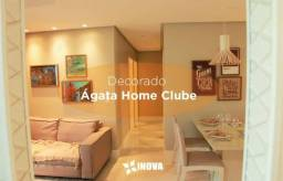 Apartamento Ágata Home Clube -Fino Acabamento- 21 Itens de Lazer - Documentação Grátis