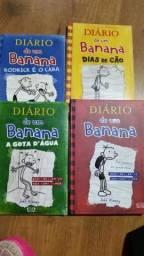 O diário de um banana 4 livros