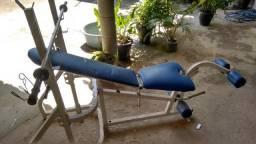Mesa / prancha de musculação