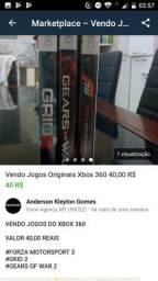 Vendo Jogos Xbox originais cada preço negociável
