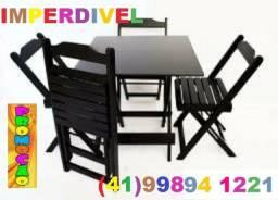 Liquidação Total de Mesas e Cadeiras Dobráveis - Paifes